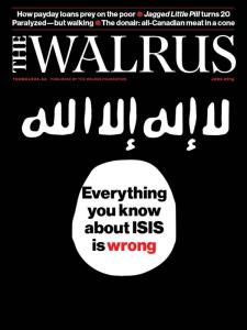 The Walrus - June 2015 Cover