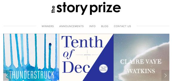 story-prize-header