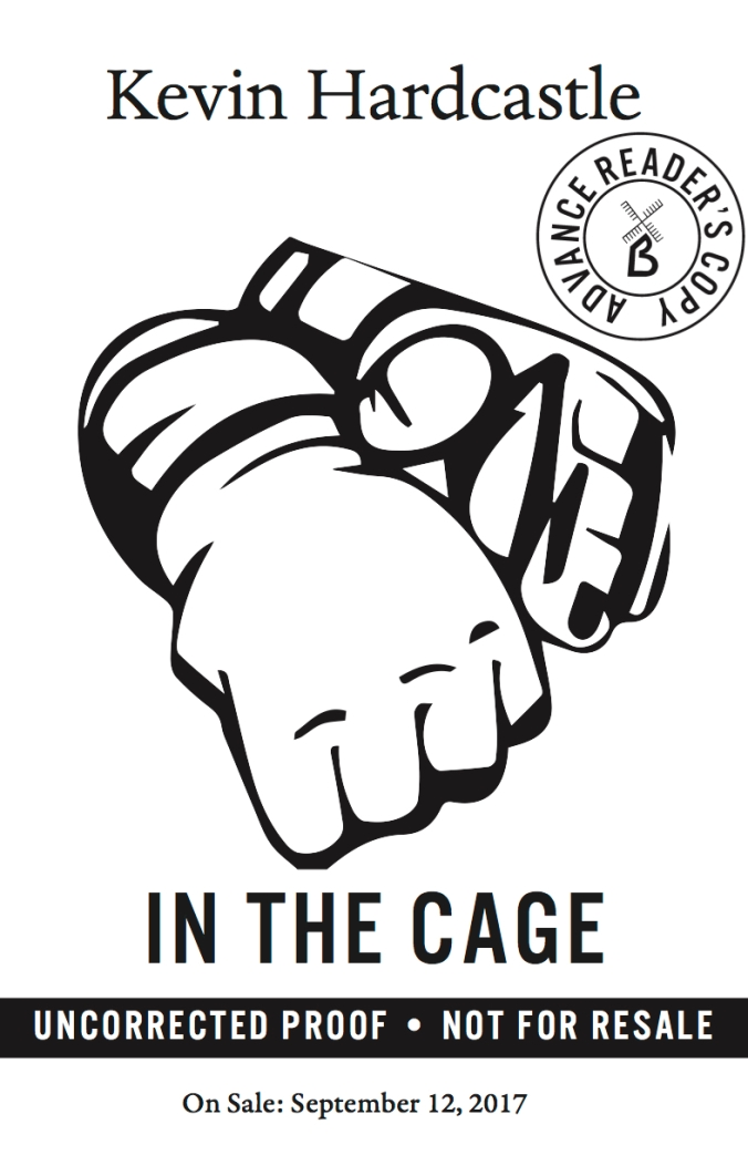 In the Cage ARC cover